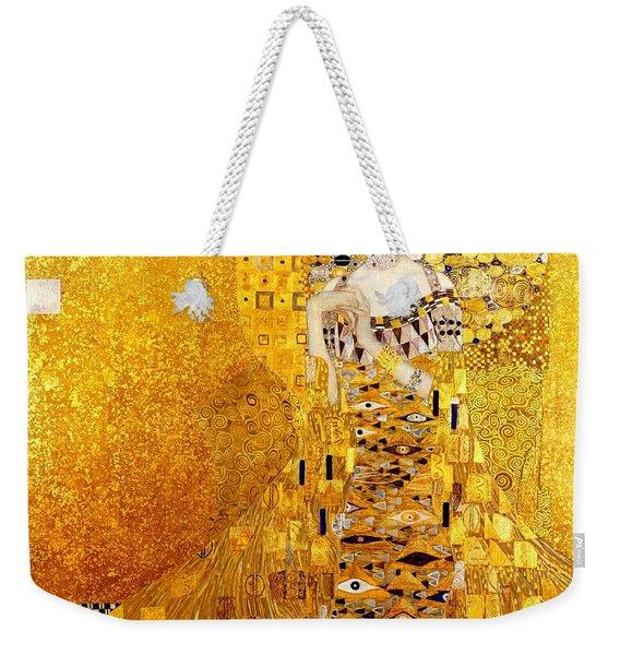 Portrait Of Adele Bloch-bauer Art Nouveau Weekender Tote Bag