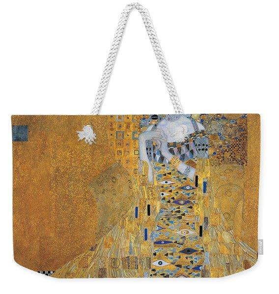 Portrait Of Adele Bloch-bauer I Weekender Tote Bag