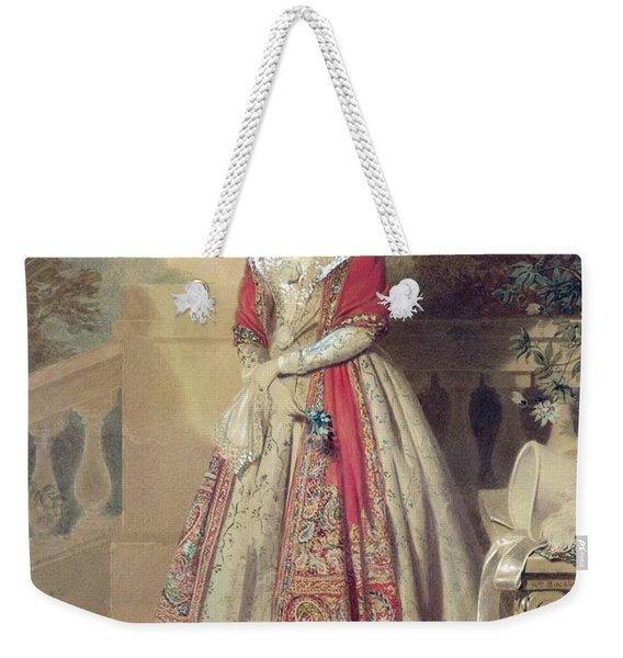 Portrait Of An Unknown Lady  Weekender Tote Bag