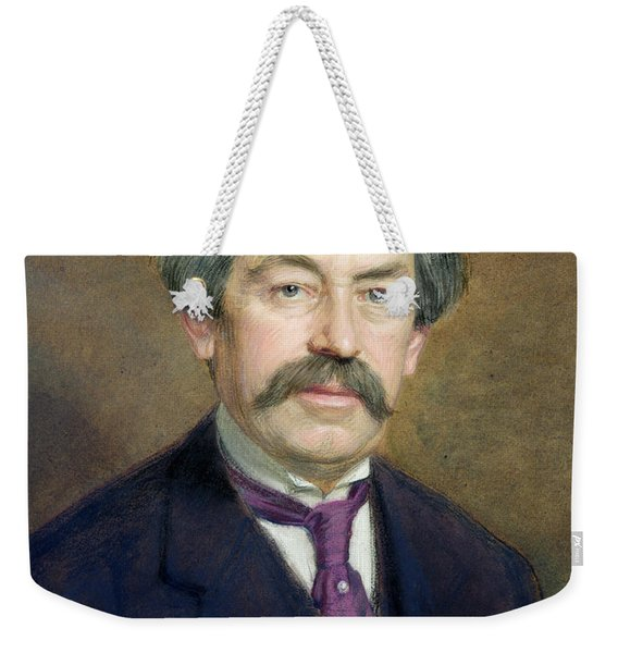 Portrait Of Aristide Briand 1862-1932 1916 Pastel On Paper Weekender Tote Bag