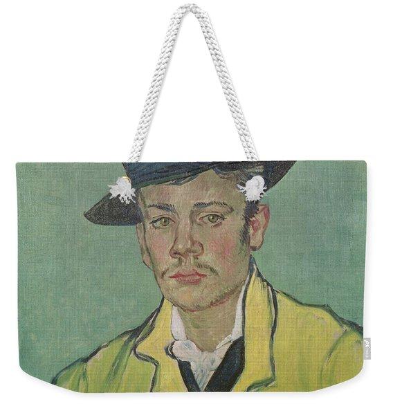 Portrait Of Armand Roulin Weekender Tote Bag
