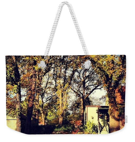 Portrait Of Autumn Weekender Tote Bag