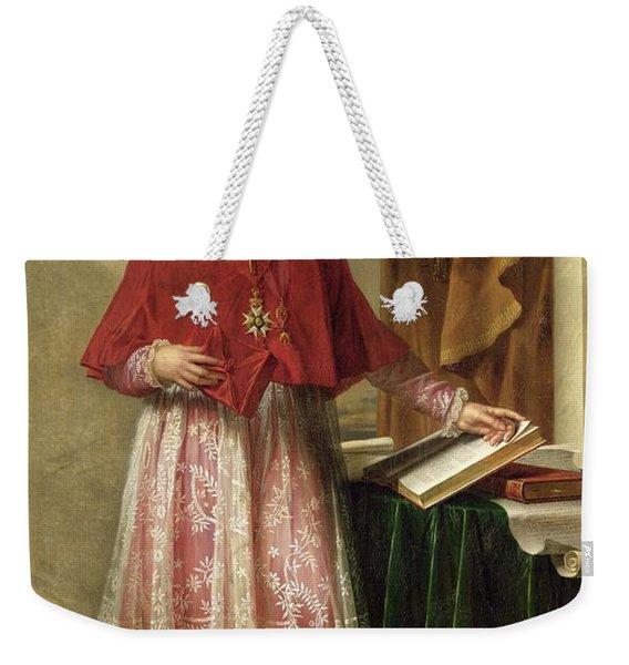 Portrait Of Cardinal Joseph Fesch 1763-1839 1806 Oil On Canvas Weekender Tote Bag