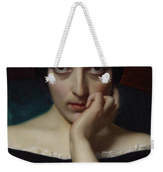 Portrait Of Clementine Weekender Tote Bag