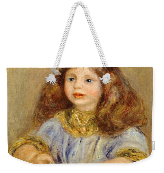 Portrait Of Genevieve Bernheim De Villiers Weekender Tote Bag