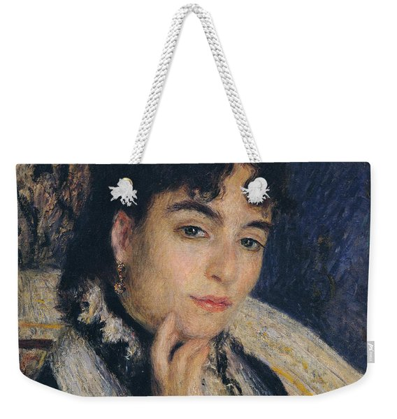 Portrait Of Madame Alphonse Daudet,1876  Weekender Tote Bag