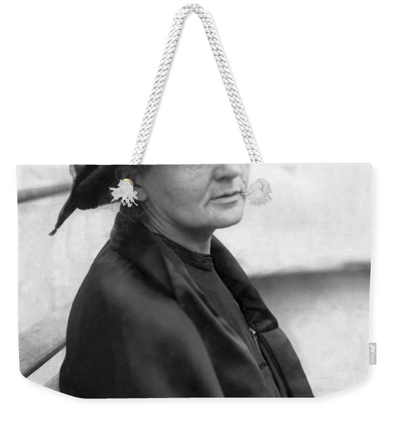 Portrait Of Marie Curie Weekender Tote Bag