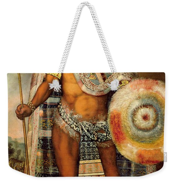 Portrait Of Montezuma II Weekender Tote Bag