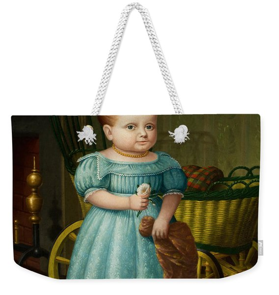 Portrait Of Sally Puffer Sanderson Weekender Tote Bag