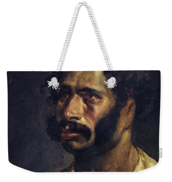Portrait Of The Carpenter Of The Medusa, C.1812 Oil On Canvas Weekender Tote Bag