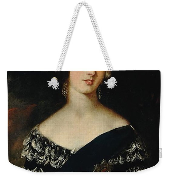 Portrait Of The Young Queen Victoria Weekender Tote Bag
