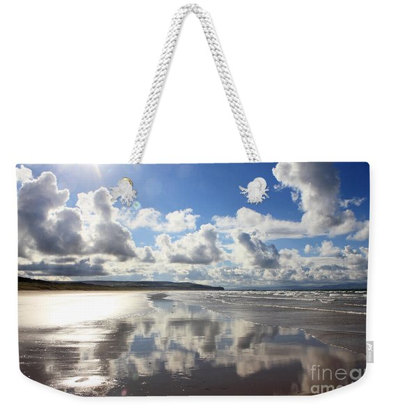 Portstewart Strand 4 Weekender Tote Bag