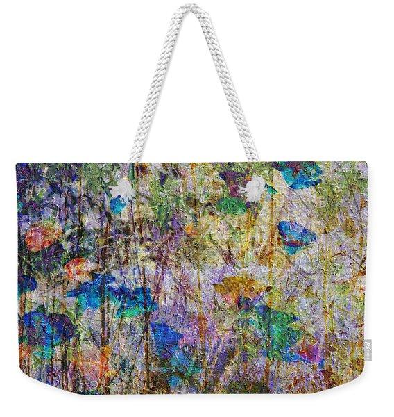 Posies In The Grass Weekender Tote Bag