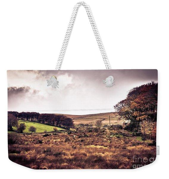 Postbridge On Dartmoor Weekender Tote Bag