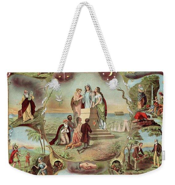 Poster Odd Fellows, C1871 Weekender Tote Bag