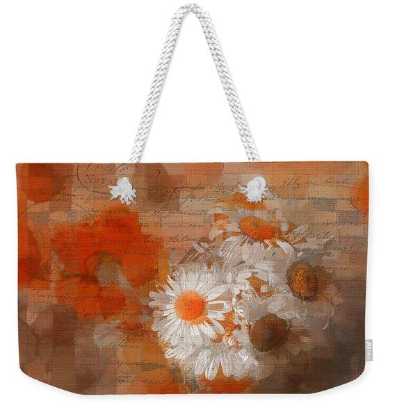 Pot Of Daisies 02 - J33027100rgn1c Weekender Tote Bag