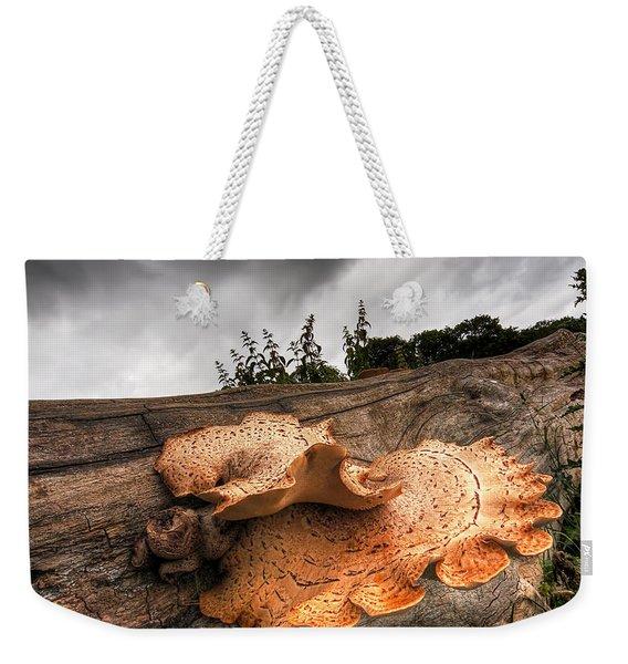 Pot Of Gold - Glowing Fungi Weekender Tote Bag