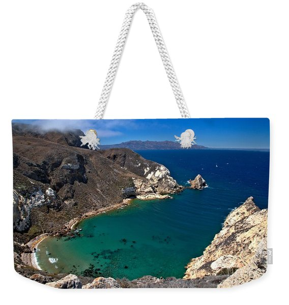 Potato Harbor Views Weekender Tote Bag