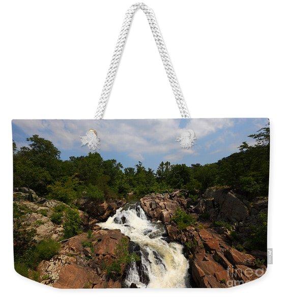 Potomac River Great Falls Weekender Tote Bag