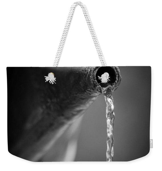 Running Water Weekender Tote Bag