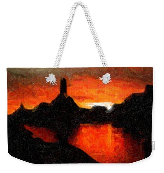Powell Sunset Weekender Tote Bag