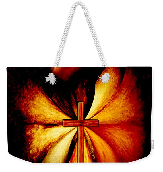 Power Of Prayer Weekender Tote Bag