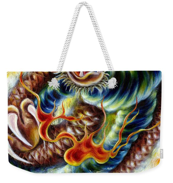 Power Of Spirit Weekender Tote Bag