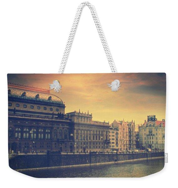 Prague Days Weekender Tote Bag