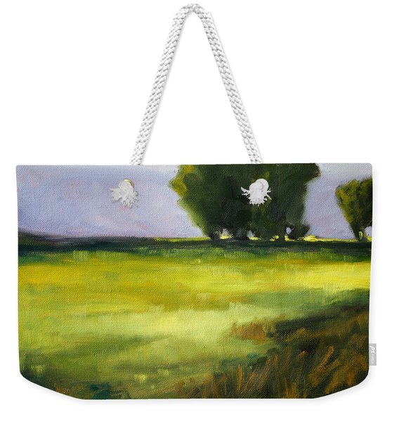 Prairie Light Weekender Tote Bag