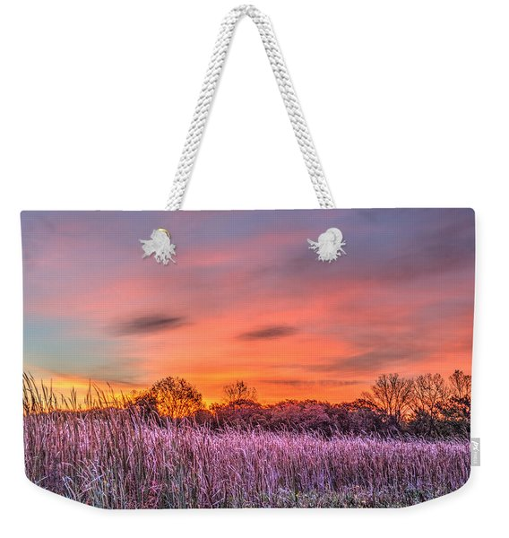 Moraine Hills State Park Moments Before Sunrise Weekender Tote Bag