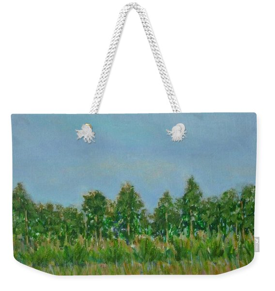 Prairie Morning Light Weekender Tote Bag