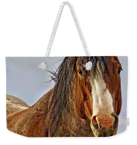 Winter's Edge Weekender Tote Bag