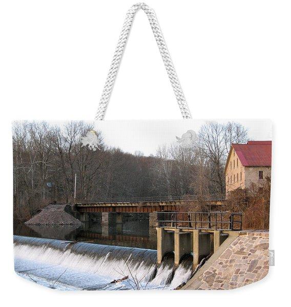 Prallsville Mill Weekender Tote Bag
