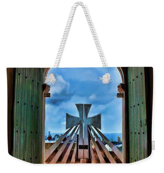 Prayers For Cartegena Weekender Tote Bag