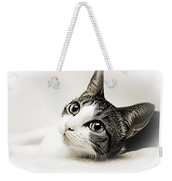 Precious Kitty Weekender Tote Bag