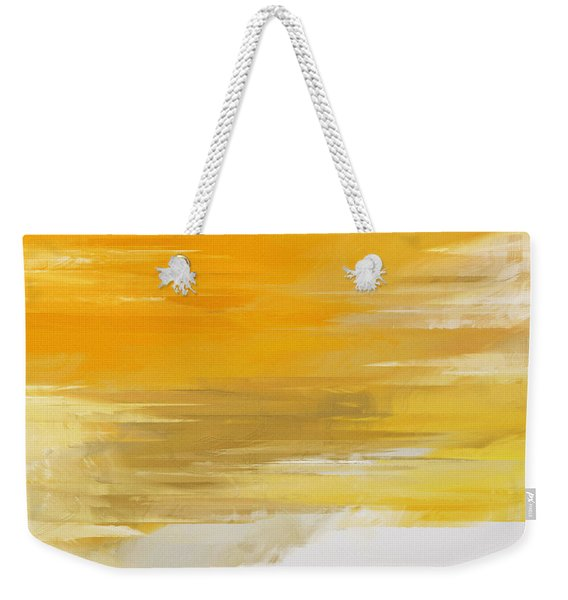 Precious Metals Abstract Weekender Tote Bag