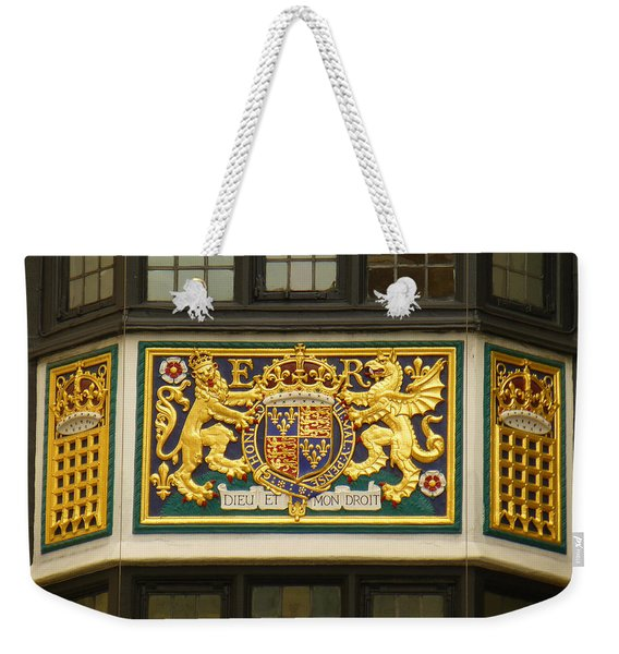 Preserving The Monarchy Weekender Tote Bag