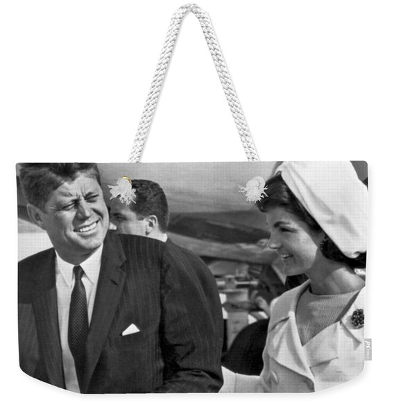 President And Mrs. Kennedy Weekender Tote Bag
