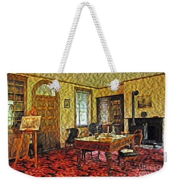 President Buchanans Home Office Weekender Tote Bag