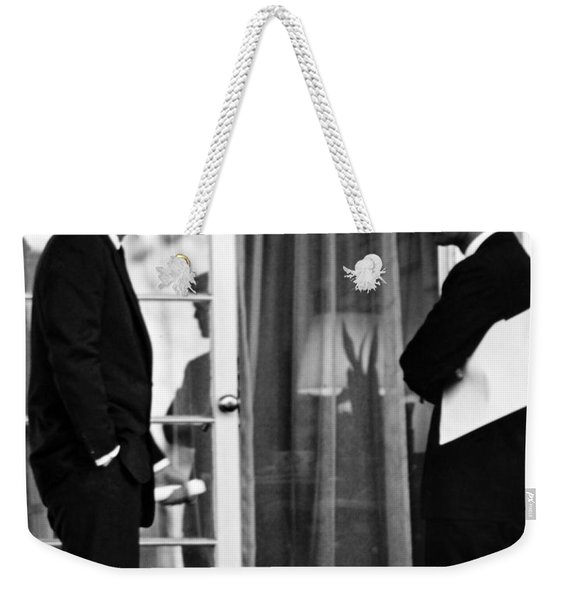 President John Kennedy And Robert Kennedy Weekender Tote Bag