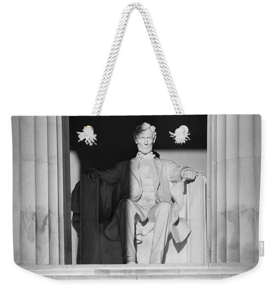 President Lincoln Weekender Tote Bag