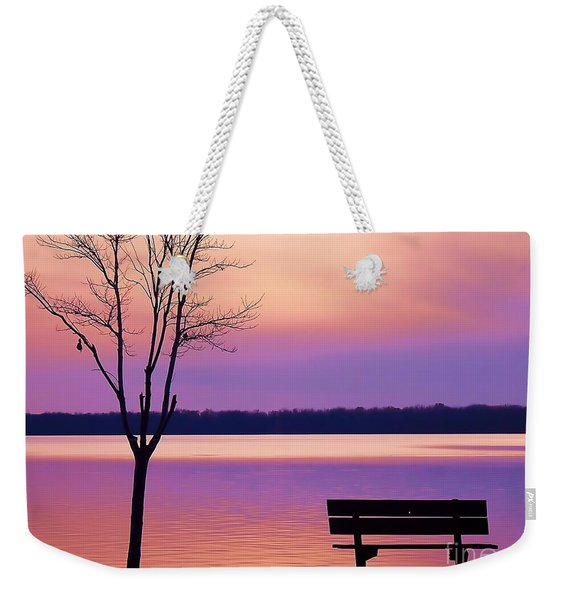 Presque Isle Solitude 11.12.12 Weekender Tote Bag