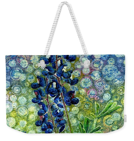 Pretty In Blue Weekender Tote Bag