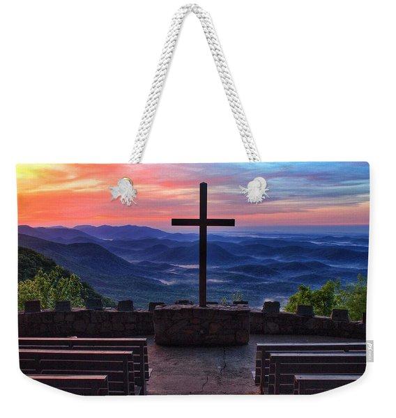 Pretty Place Chapel Sunrise Weekender Tote Bag