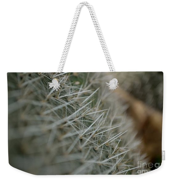 Weekender Tote Bag featuring the photograph Prickly Pear by Scott Lyons
