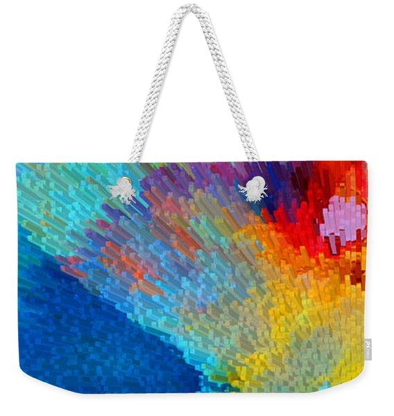 Primary Joy - Abstract Art By Sharon Cummings Weekender Tote Bag