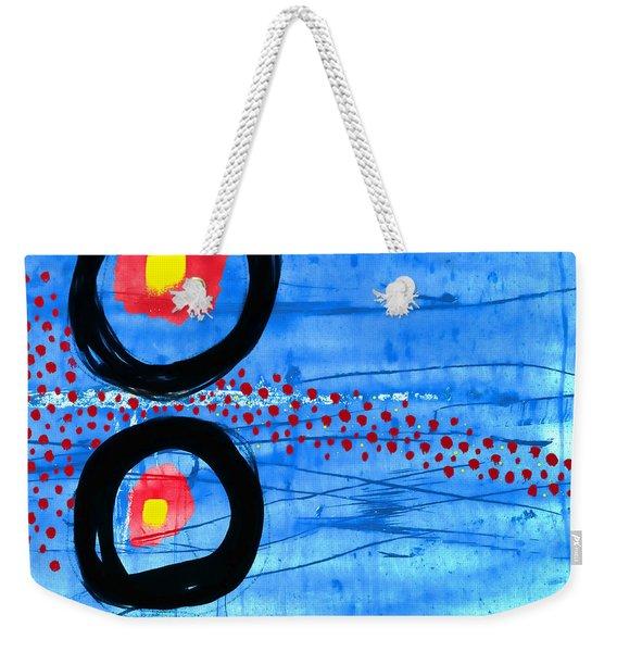 Primary Movement Weekender Tote Bag