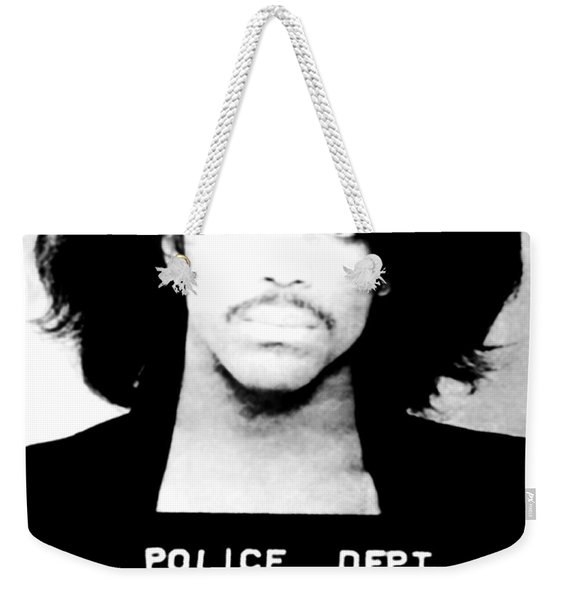 Prince Mugshot Weekender Tote Bag