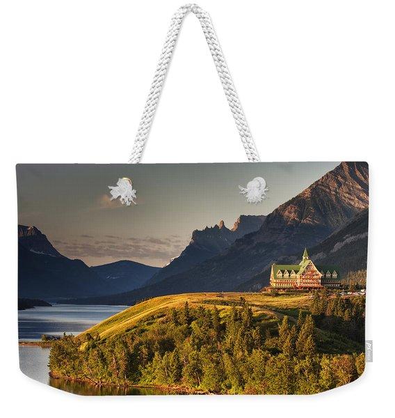 Prince Of Wales Sunrise Weekender Tote Bag