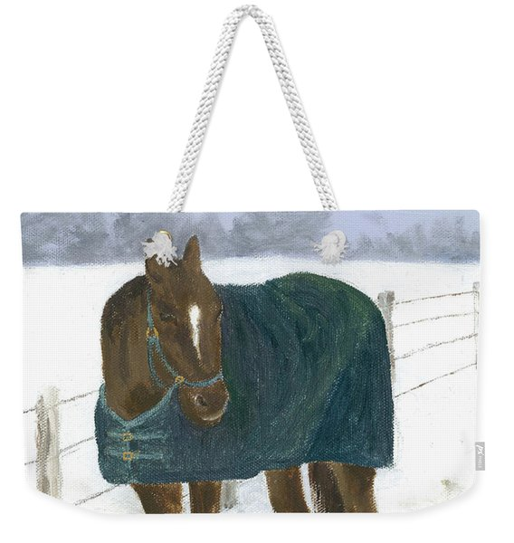 Prince Seasons Greetings Weekender Tote Bag